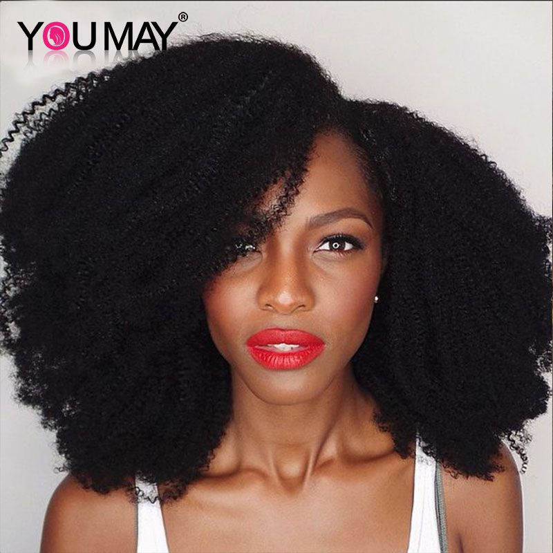 4b 4c Curly Mongolian Natural Hair Clip Extensions 7a Afro Kinky
