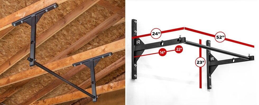 Rogue p v garage pull up system fitness pinterest