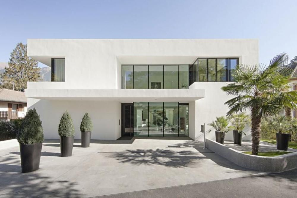 White Modern Houses modern white house exteriors - google search | curb appeal