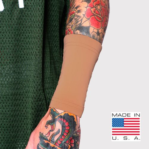 Ink Armor Tattoo Cover Up Sleeve Forearm 6 Inch Suntan Tat 2