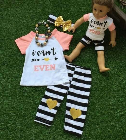 Mia belle baby dollie and me outfits. I seriously love their clothes!
