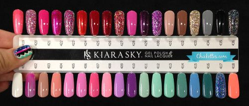 Kiara Sky Color Swatches   {Beauty Related} in 2019   Sky ...