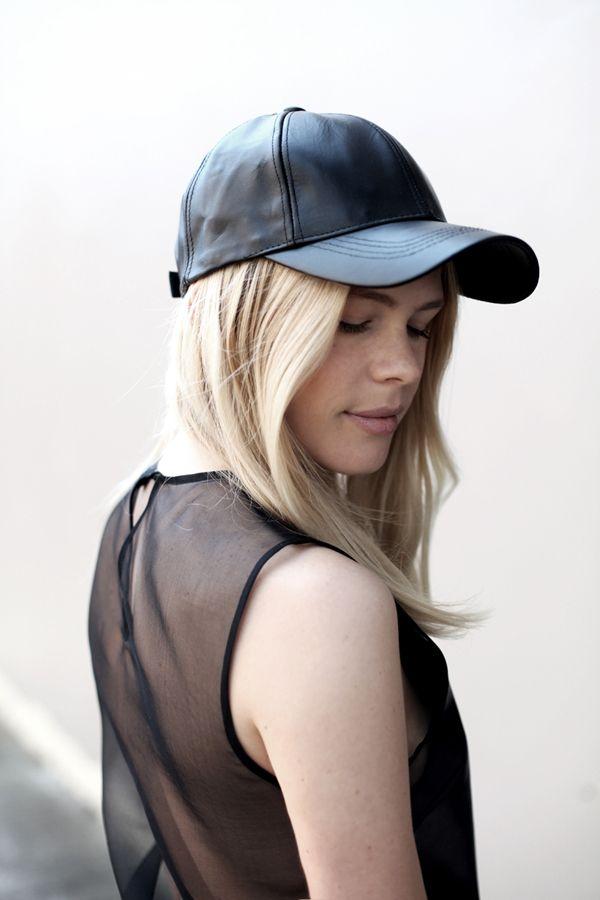 baseball cap with sheer  http://www.creativeboysclub.com/