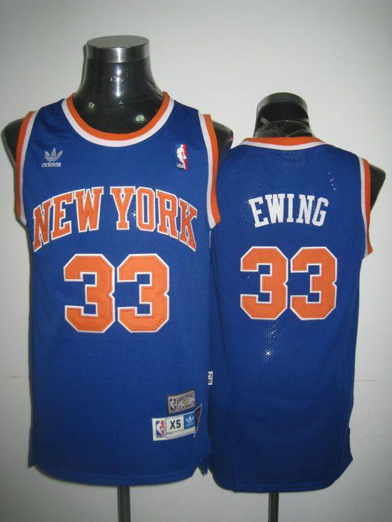wholesale dealer 56445 4dd14 Adidas NBA Mitchell Ness New York Knicks 33 Patrick Ewing ...