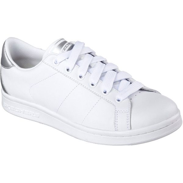 Skechers Women's Omne - Kort Klassix White - Skechers (2,990 PHP) ❤ liked on