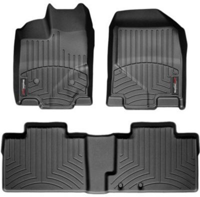 Spoilers For Less - 2006-2010 Toyota RAV4 Floor Mats Weathertech Toyota Floor  Mats W81BL