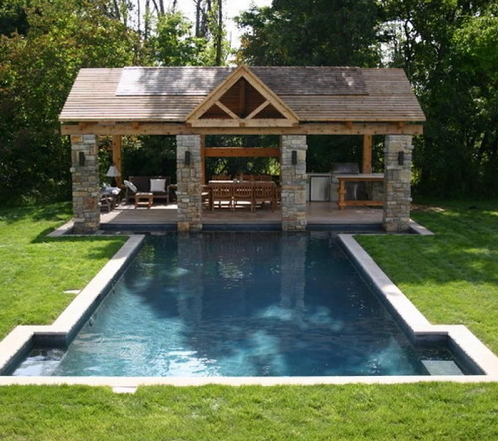 pool patio decorating ideas. Decoration, Pool Patio Decorating Ideas Large Shaped Long Picture  Example Swimming Blue Color Water Green Grass Home Small Pool Patio Decorating Ideas