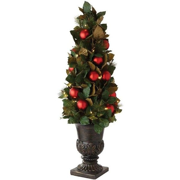 Martha Stewart Living? Magnolia and Ornaments Entrance Tree (245 BAM