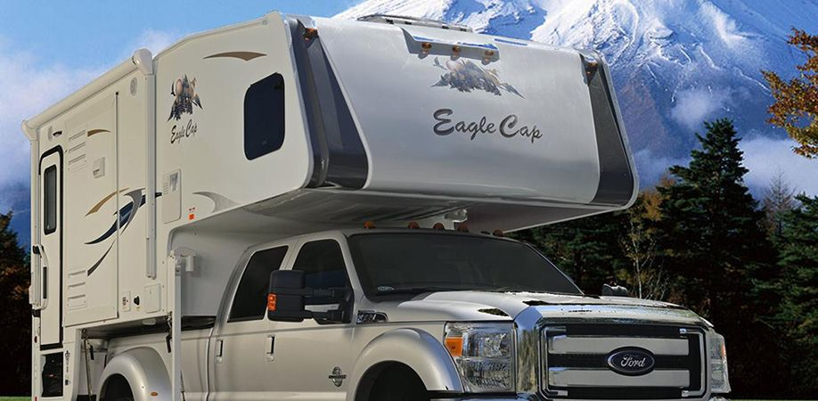 Eagle Cap Luxury Truck Camper Model 1165 Truck Camper Tiny