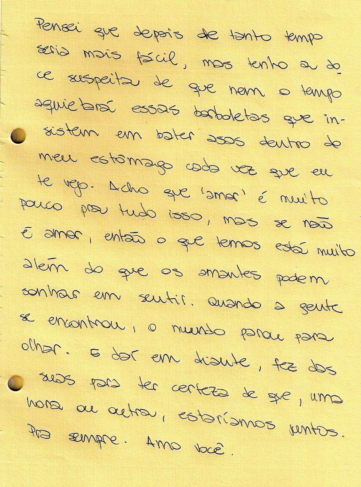 Fofa Carta De Amor Frases E Pensamentos Love Valentines E
