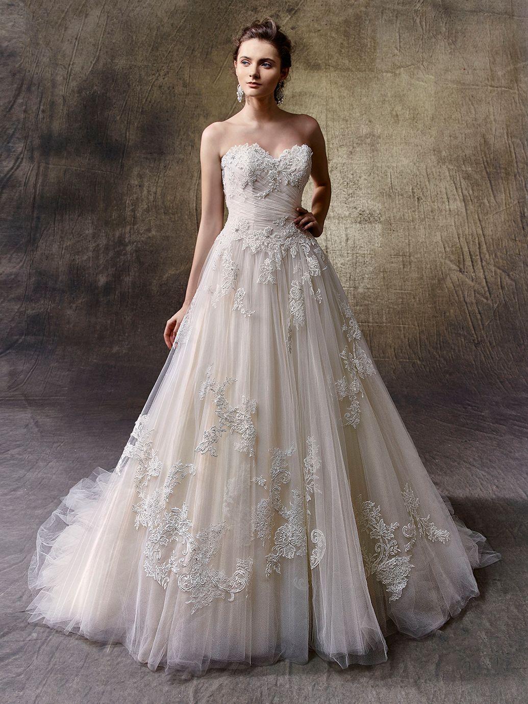 Beste ätherisch Brautkleid Zeitgenössisch - Hochzeit Kleid Stile ...