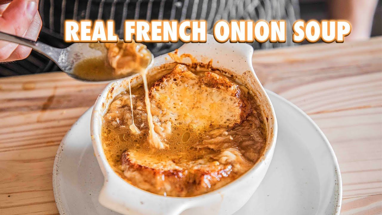 Easy homemade french onion soup youtube homemade