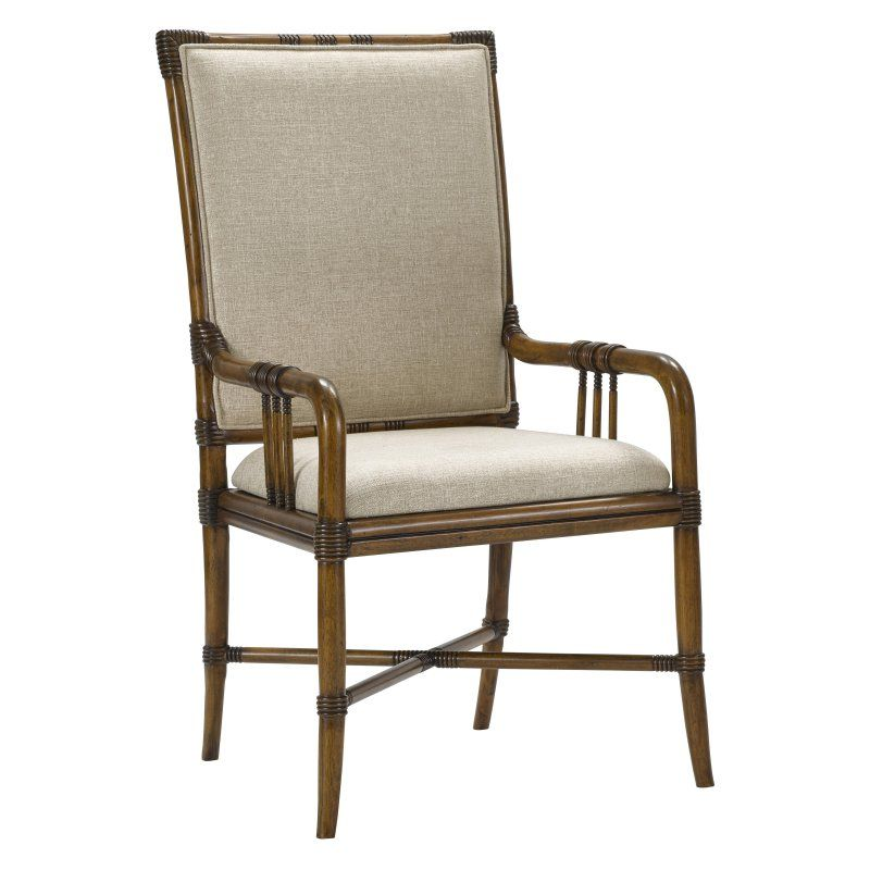 Broyhill Amalie Bay Bamboo Dining Arm Chair Set Of 2 Dining Arm Chair Chair Chair Set