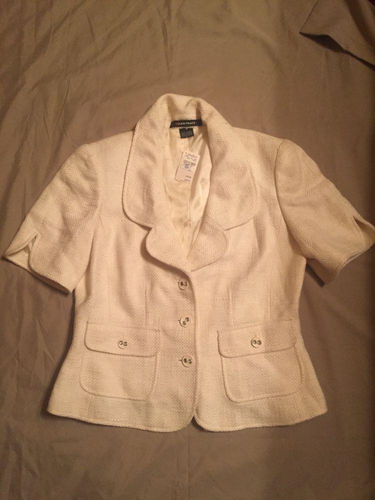 0a0e4ec3ab7 Nwt Ellen Tracy Jacket size 4.  fashion  clothing  shoes  accessories