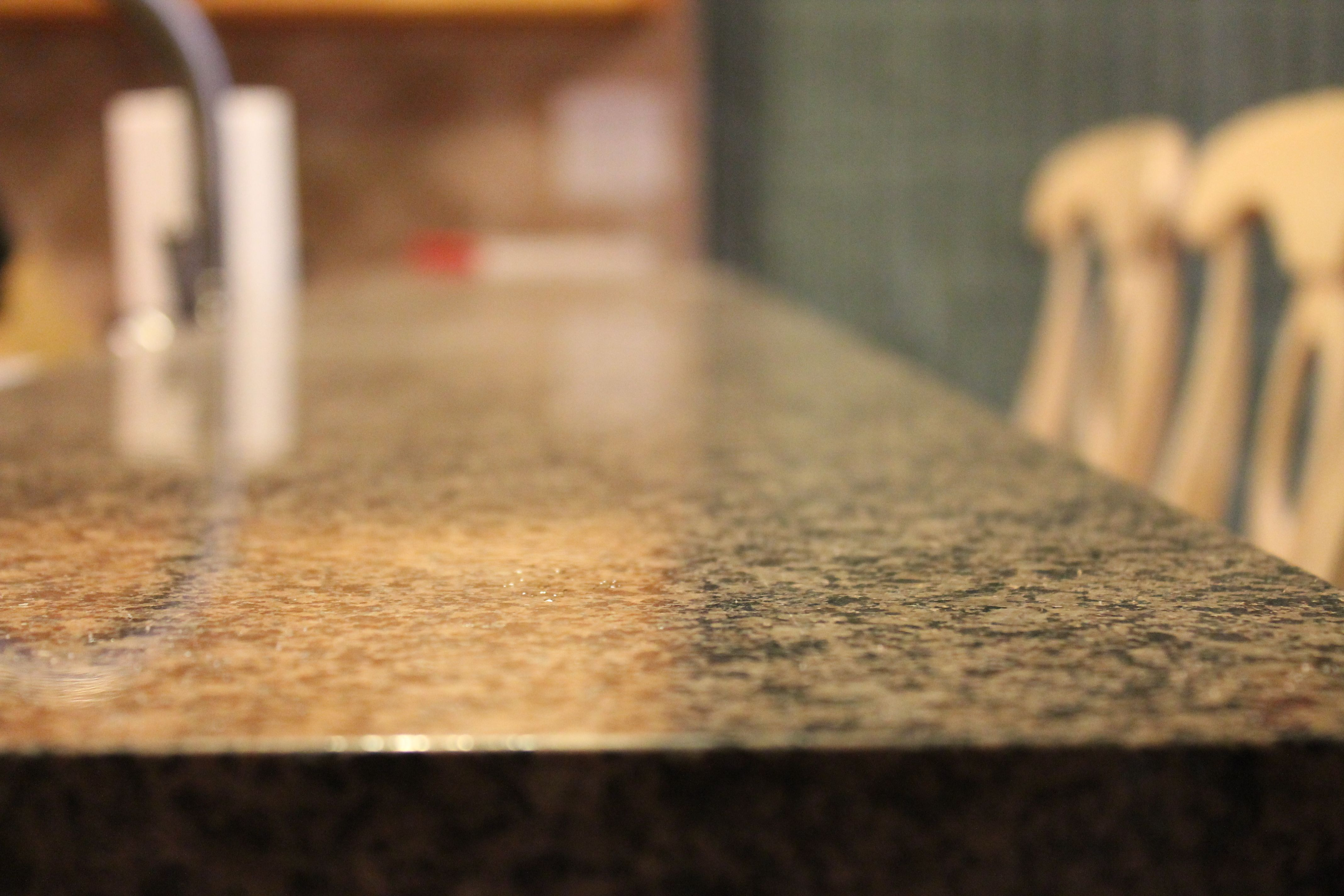 Dark #granite Countertops In Condo #kitchen Remodel.