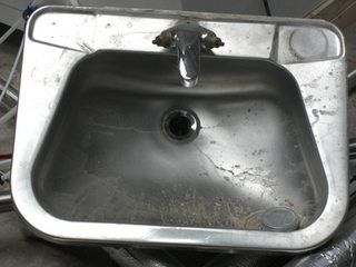 How to Paint a Kitchen Sink | DIY | Stainless steel cleaner