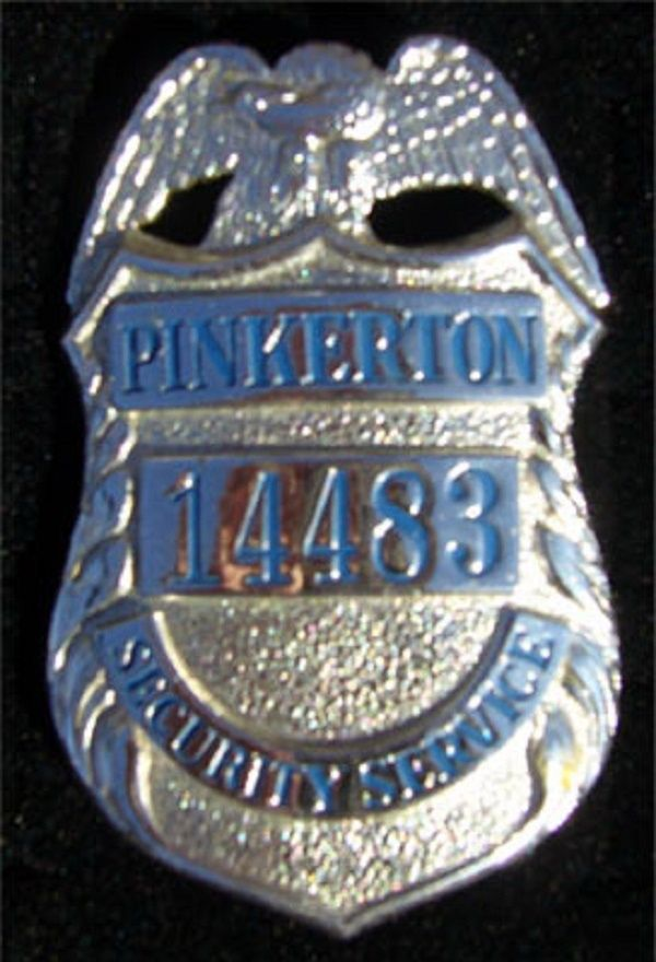 Pinkerton Security Services in the 1960s.. http://www ...