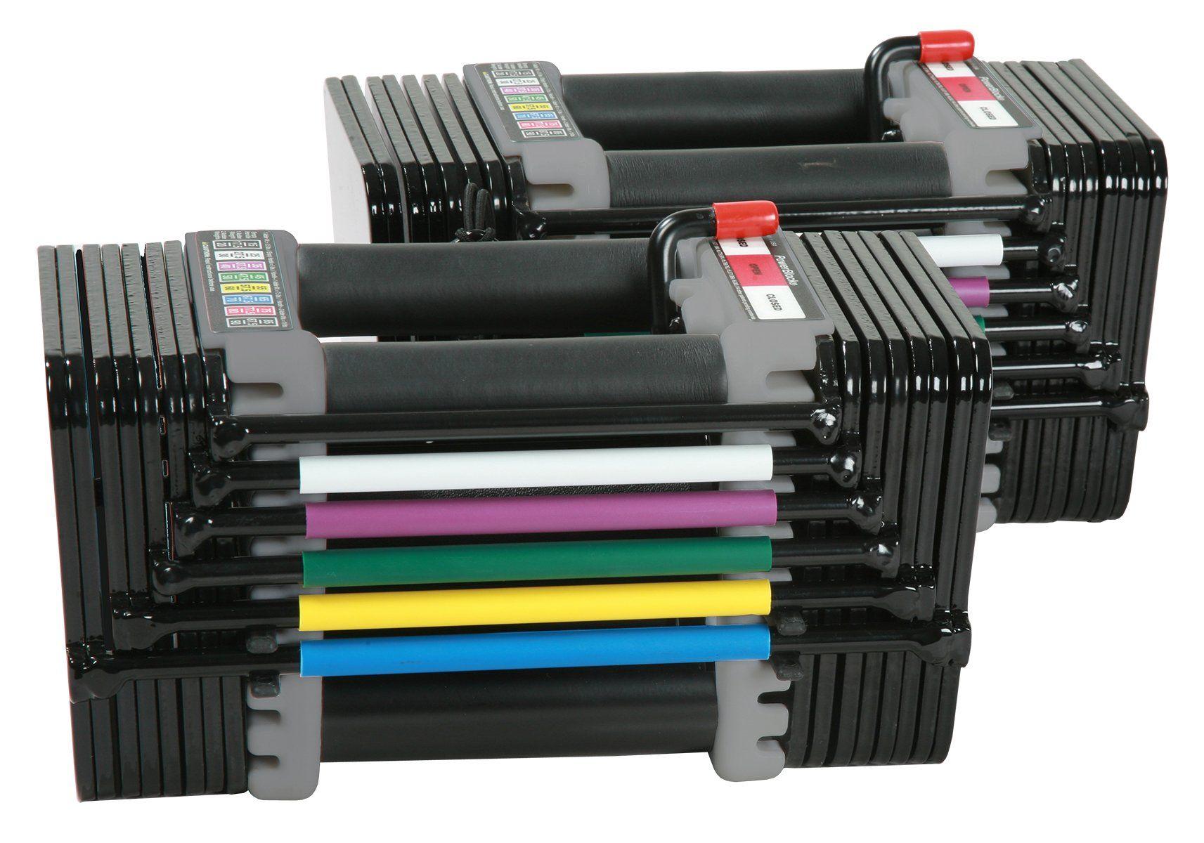 PowerBlock 50 Plus Dumbbell Set, Black