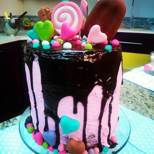Torta en Tendencia Drp Cake!!