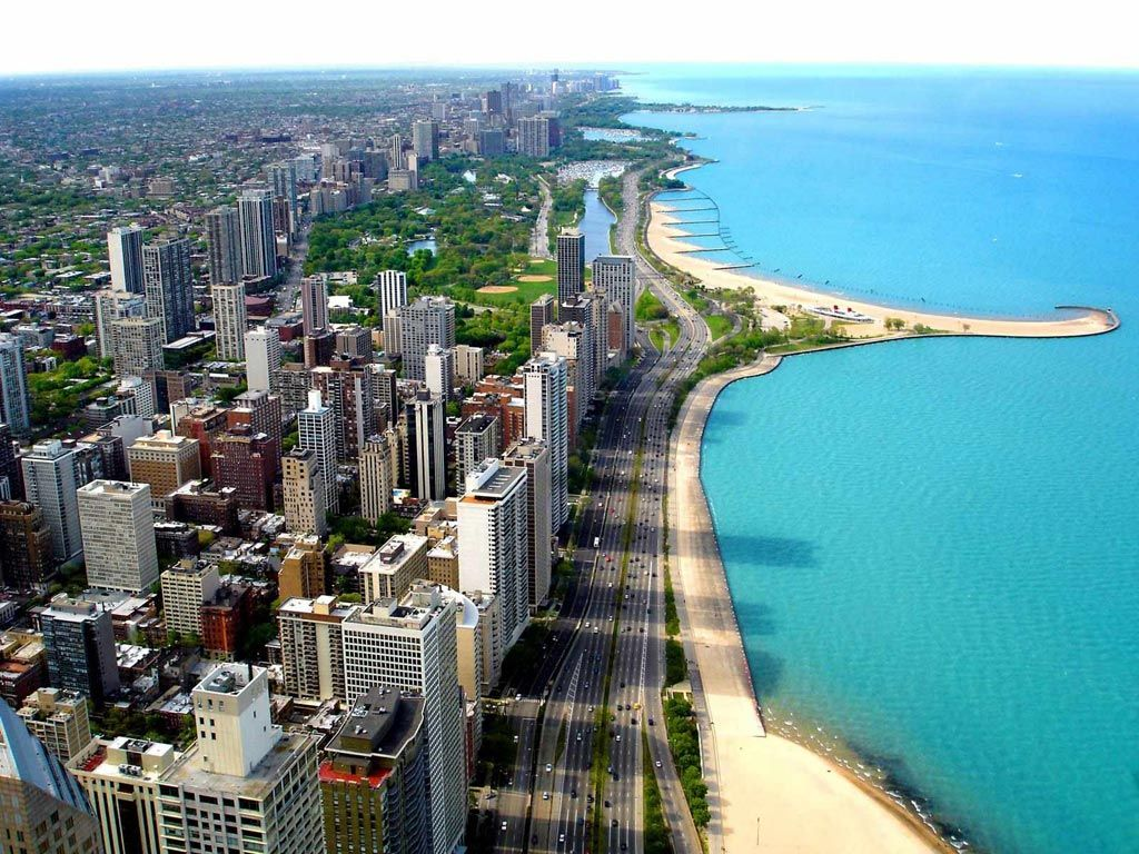 Chicago lake michigan whew that was a long beautiful and