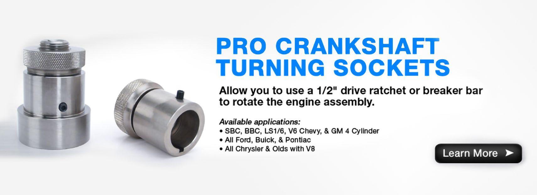 "Buick Olds Pontiac Ford  Crankshaft Socket Aluminum 1//2/"" Drive"