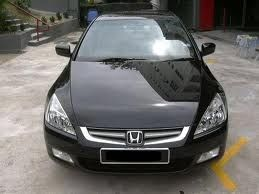 Attractive Honda Accord 2004 V6 Black (My First Car)