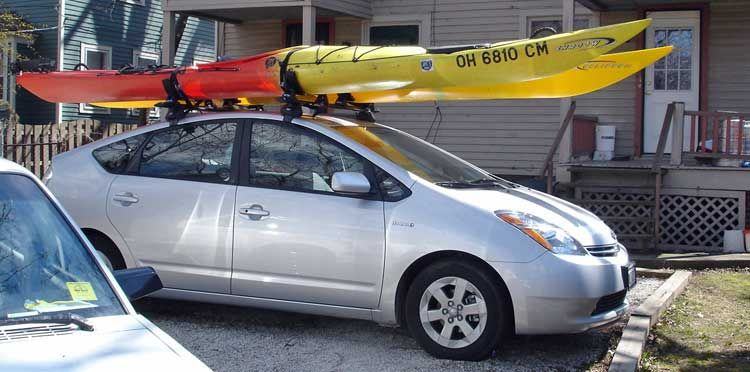 How To Choose The Right Kayak Roof Rack Go Kayak Now Kayak Roof Rack Double Kayak Kayaking
