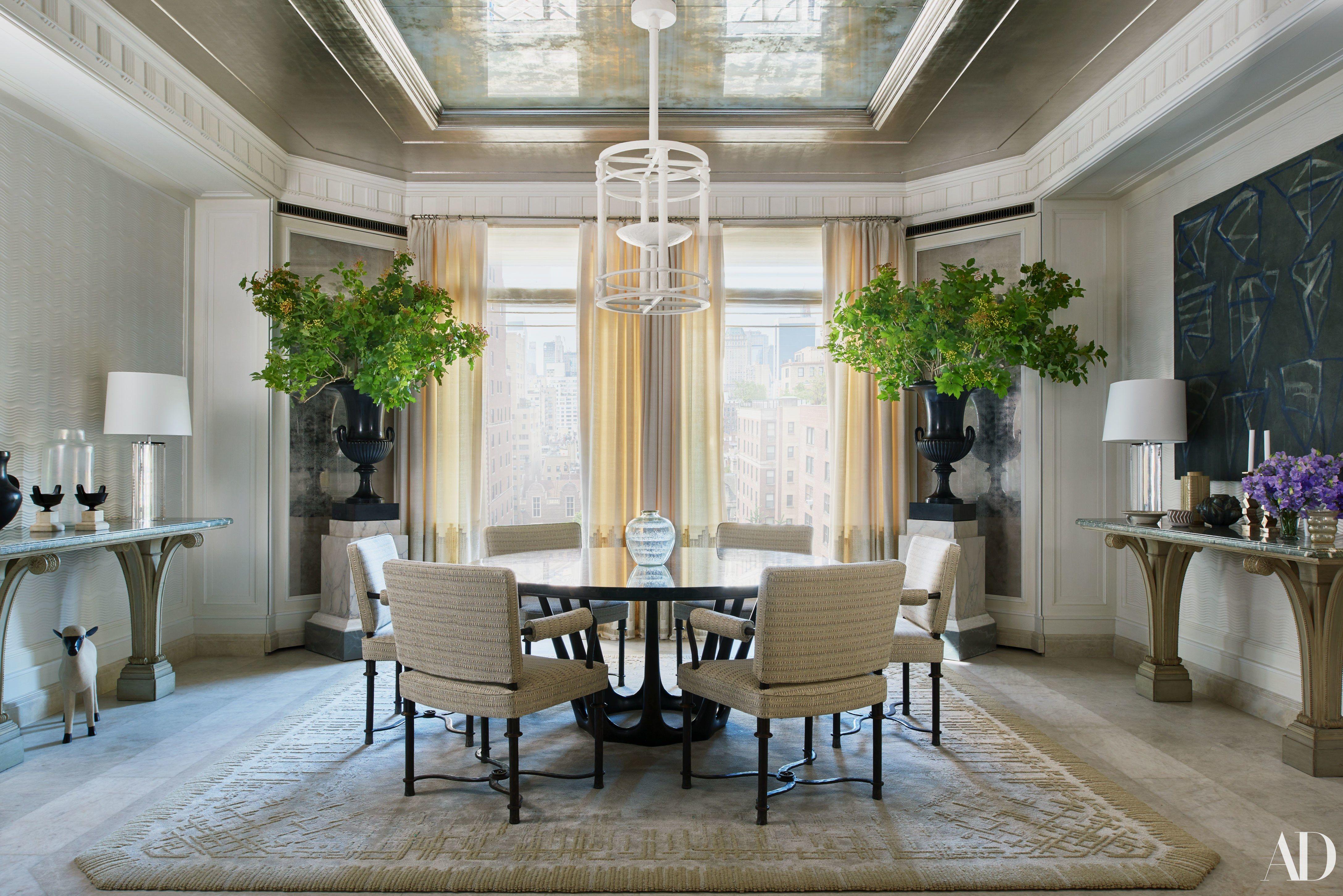 A Grand Tour Of The Michael S Smith Designed Manhattan Duplex