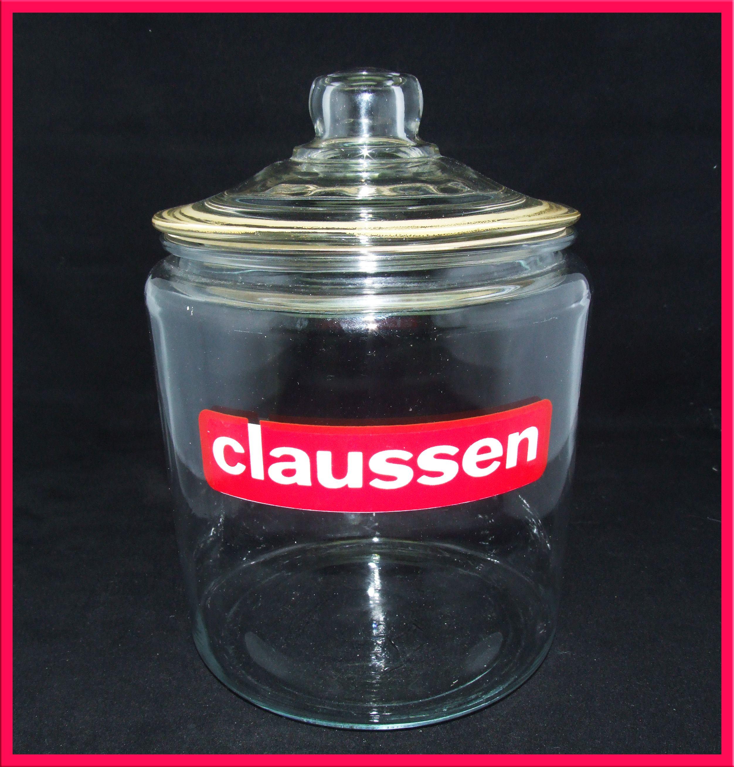 Claussen Pickle Jar Pickle Jars Vintage Jars Jar
