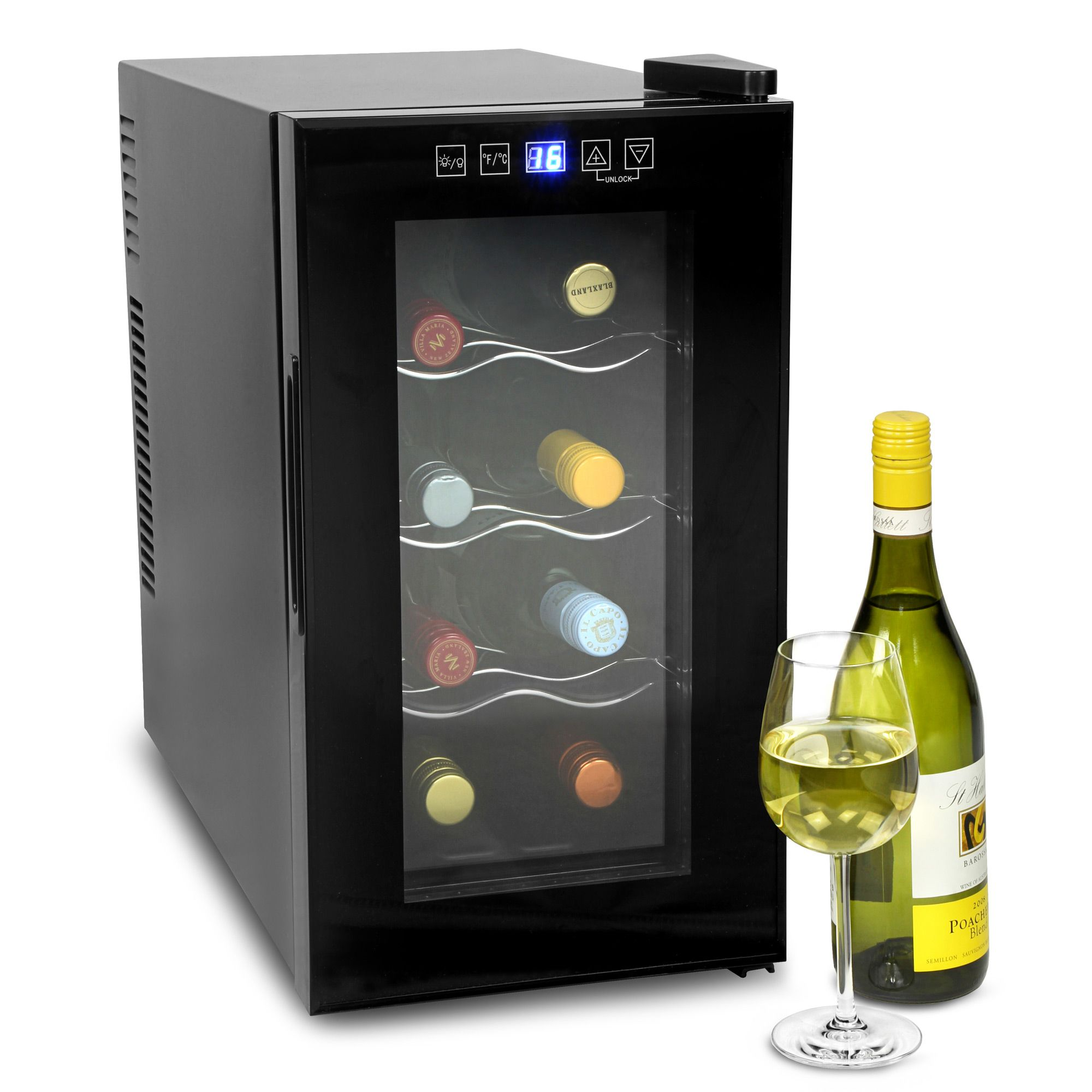 Perfect for cheese cave - VinoTech 8 Bottle Wine Cellar