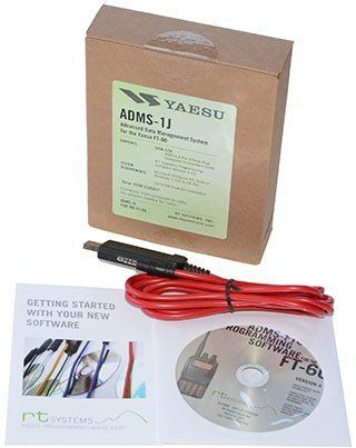 Yaesu Adms-1J Programming Software On Cd With Usb Computer Interface Cable For Ft-60R By Rt Systems [Sports] #programingsoftware