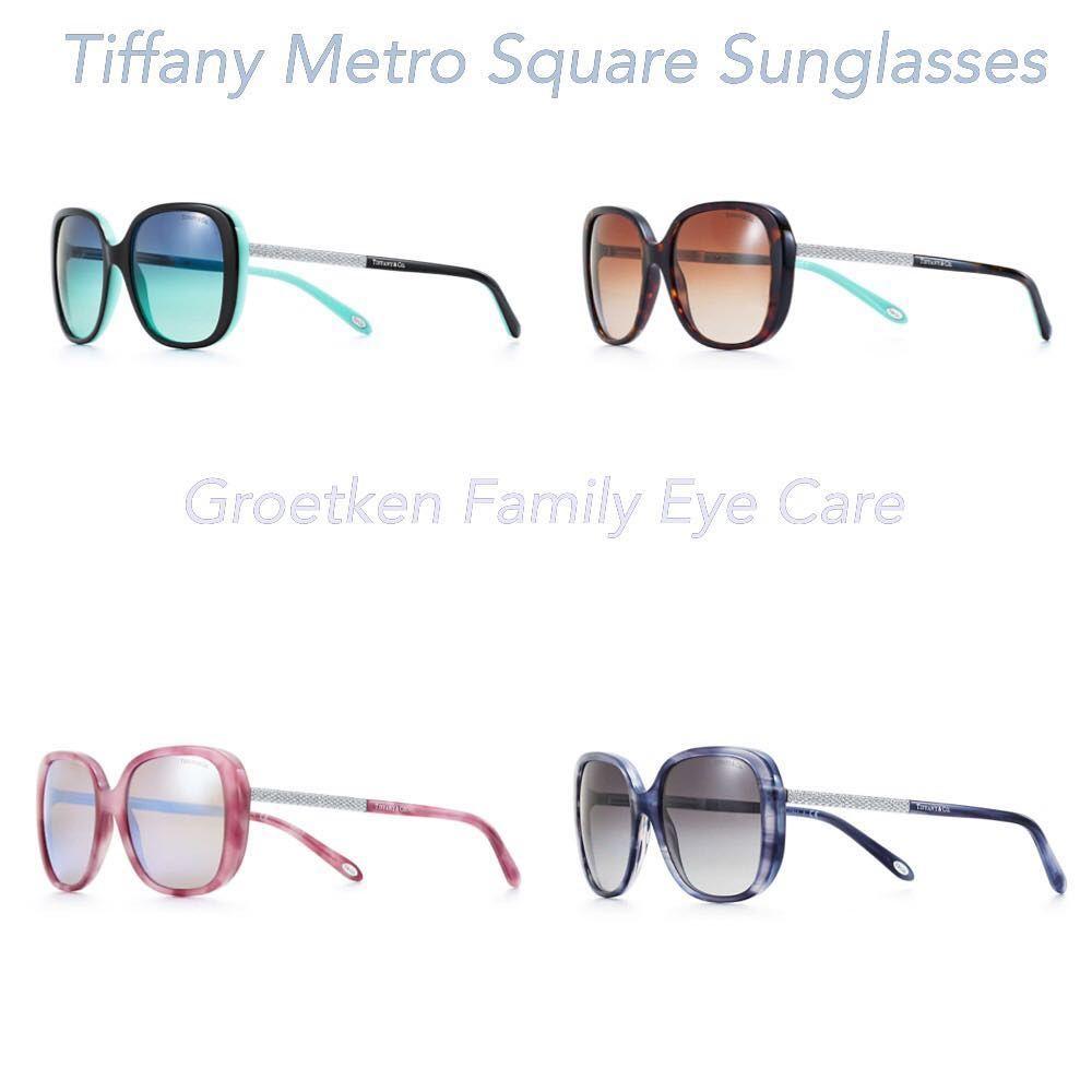8d9b295d3337 Tiffany Metro Square Sunglasses at Groetken Family Eye Care.   groetkenfamilyeyecare  lemarsiowa  lemars