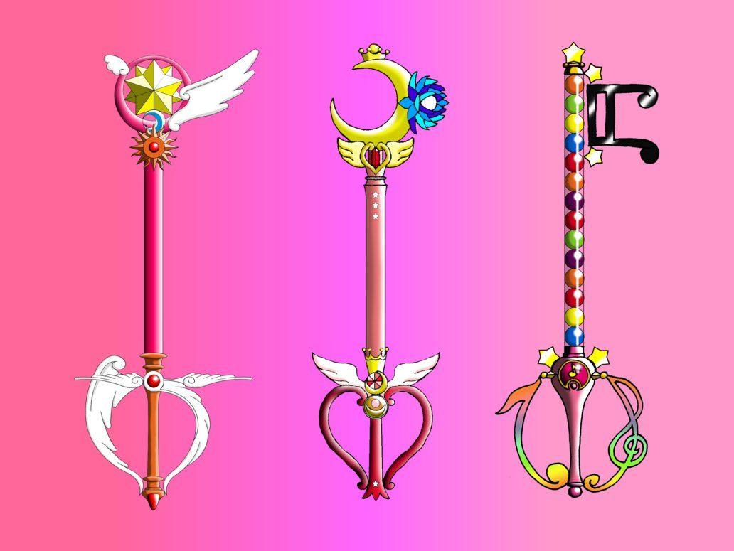 Magical Girl Transformation Items Google Search Sailor Moon Wands Magical Girl Magical Doremi