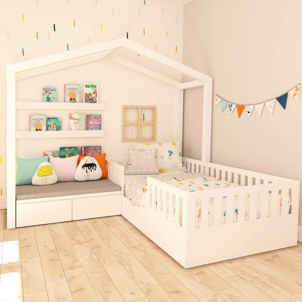 18 Easy Budget Decorating Ideas That Won T Break The Bank: Cama Infantil Dupla Para Menina