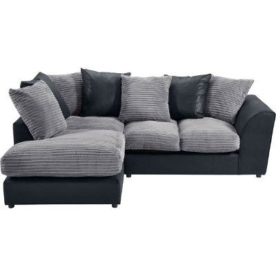 Argos Bailey Leather Effect Corner Sofa 749 99 Leather Living Room Furniture Black Leather Sofas Stylish Sofa