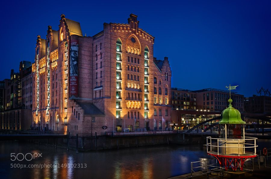 Maritime Museum after sunset by bjoensson. @go4fotos