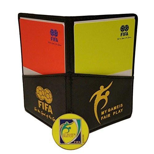 Football Soccer Referee Wallet With Red And Yellow Card Free Game Coin Click Photo To Examine More Details This Is A Football Referee Soccer Referee Fifa