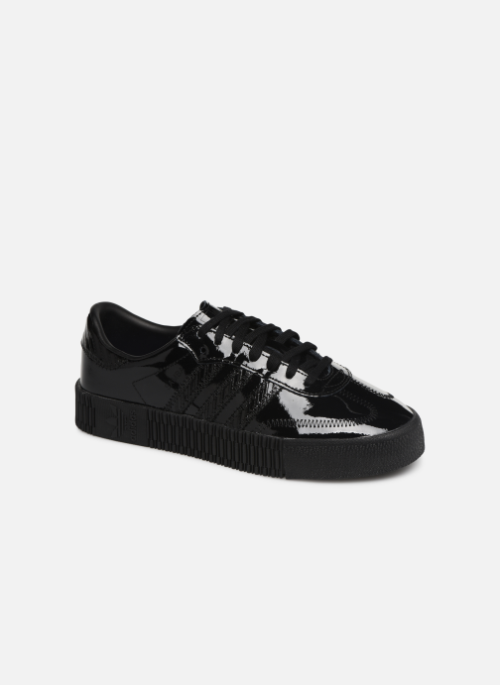Baskets Adidas Originals Sambarose W Noir #sneakers ...
