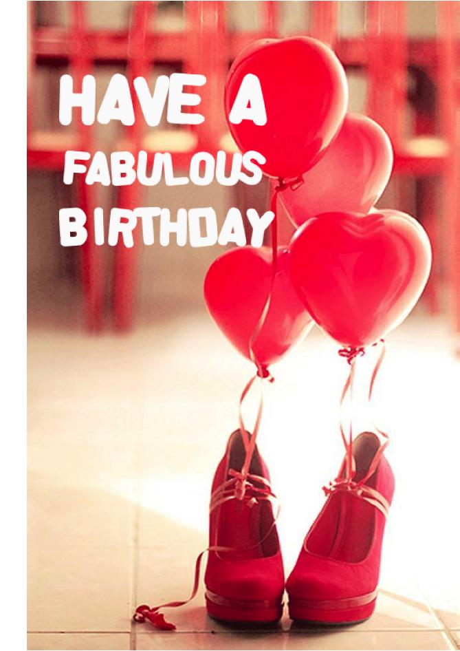 Happy Birthday Schuhe