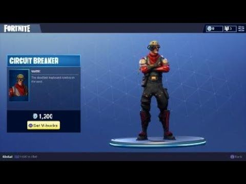 Circuit Breaker Character Outfit In Fortnite Battle Royale