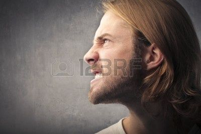 Profile Of An Angry Man Face Profile Face Profile Drawing Male Profile