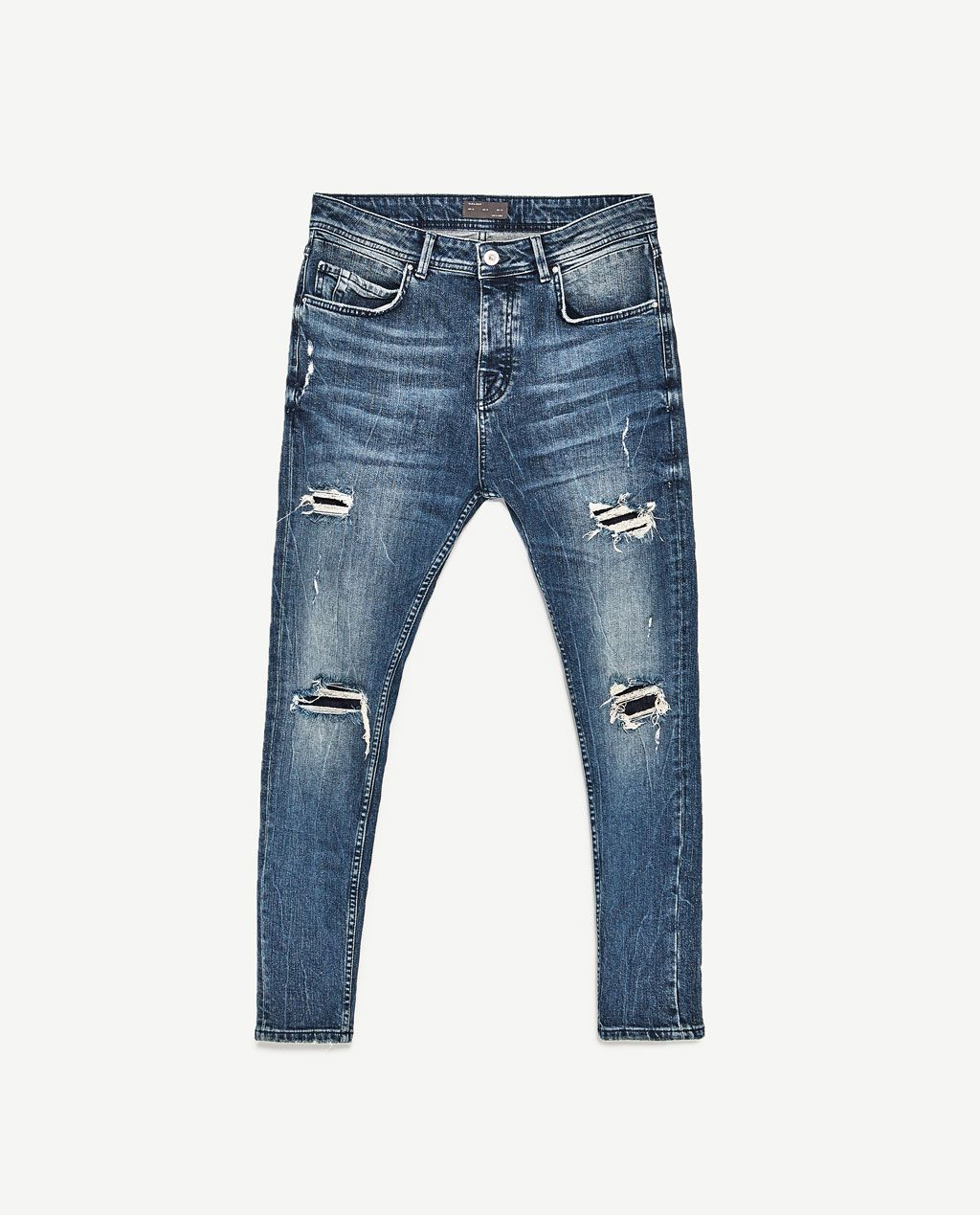 Jack /& Jones-Erik Royal-RDD-Anti Fit-Men//Uomo Jeans-NUOVO