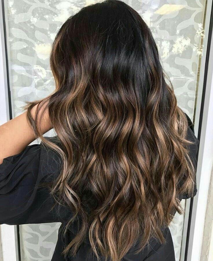 P I N T E R E S T Vivvianne Brunette Balayage Hair Brunette