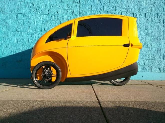 Velometro Will Roll Out Electric Velomobile Rentals In Vancouver Next Year Electric Cars Cheap Car Rental Hybrid Car