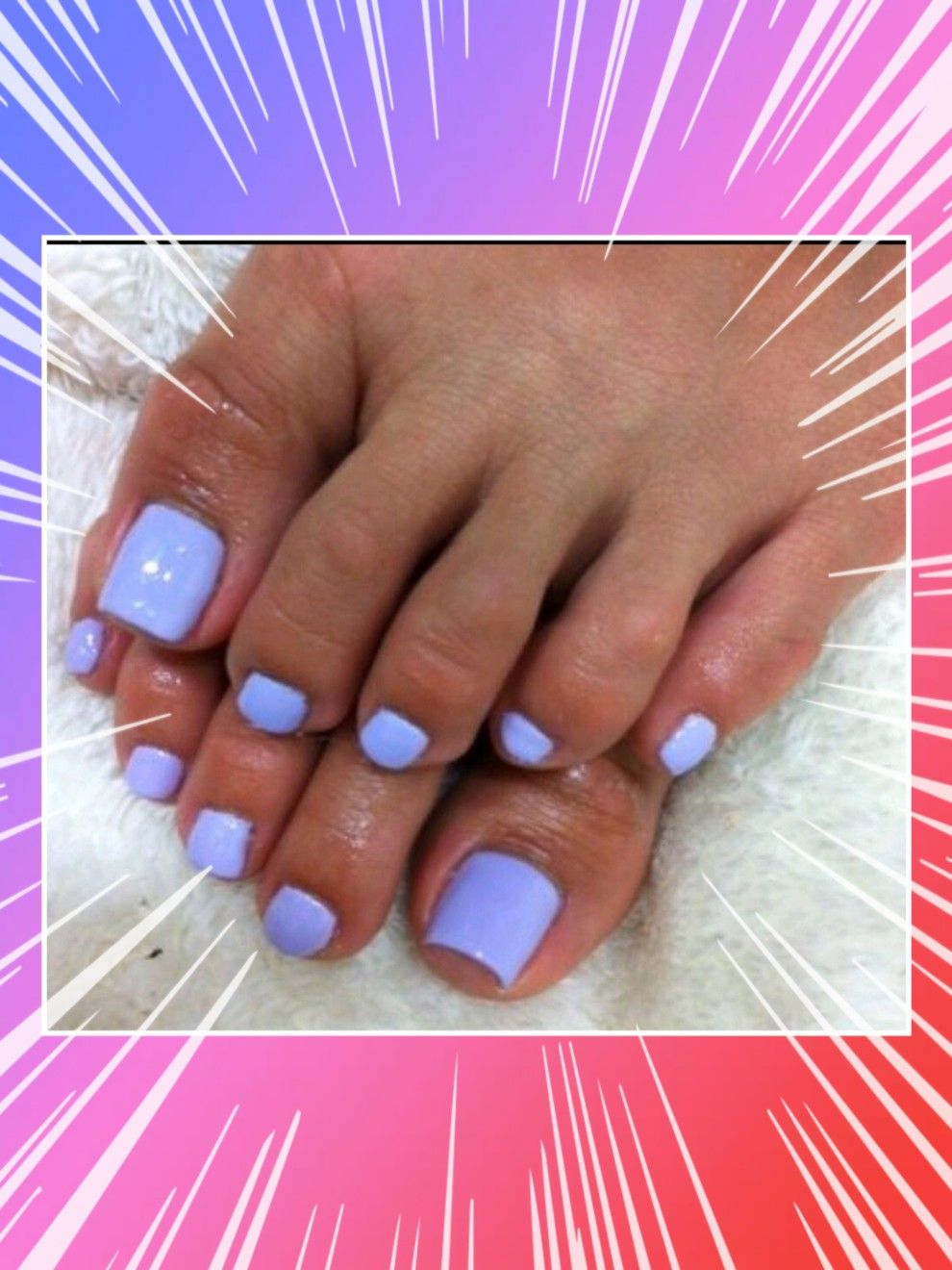 Lavender Color For Spring Pedicure Is In New Nail Colors