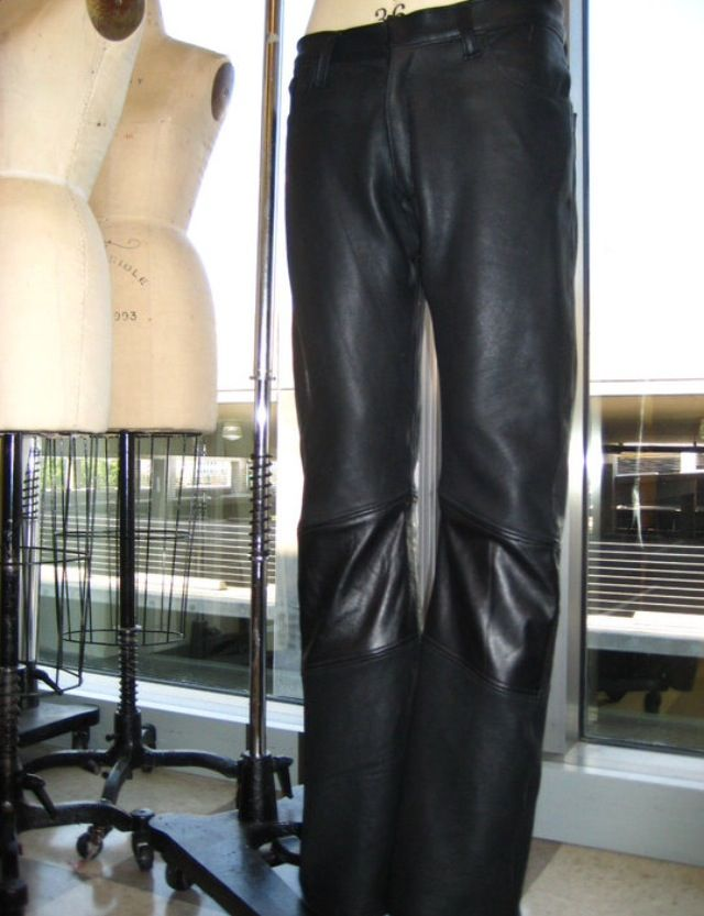 Leather Pants by Meagan Cortes