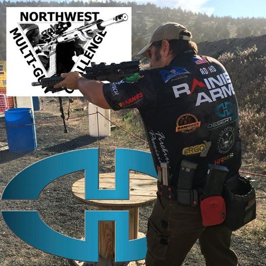 CRAIG OUTZEN DOES IT AGAIN! Congratulations to Desert Tech sponsored shooter Craig Outzen who wins the Open Division Championships and High Law Enforcement at the 2014 Northwest Multigun Challenge in Bend, OR this past weekend