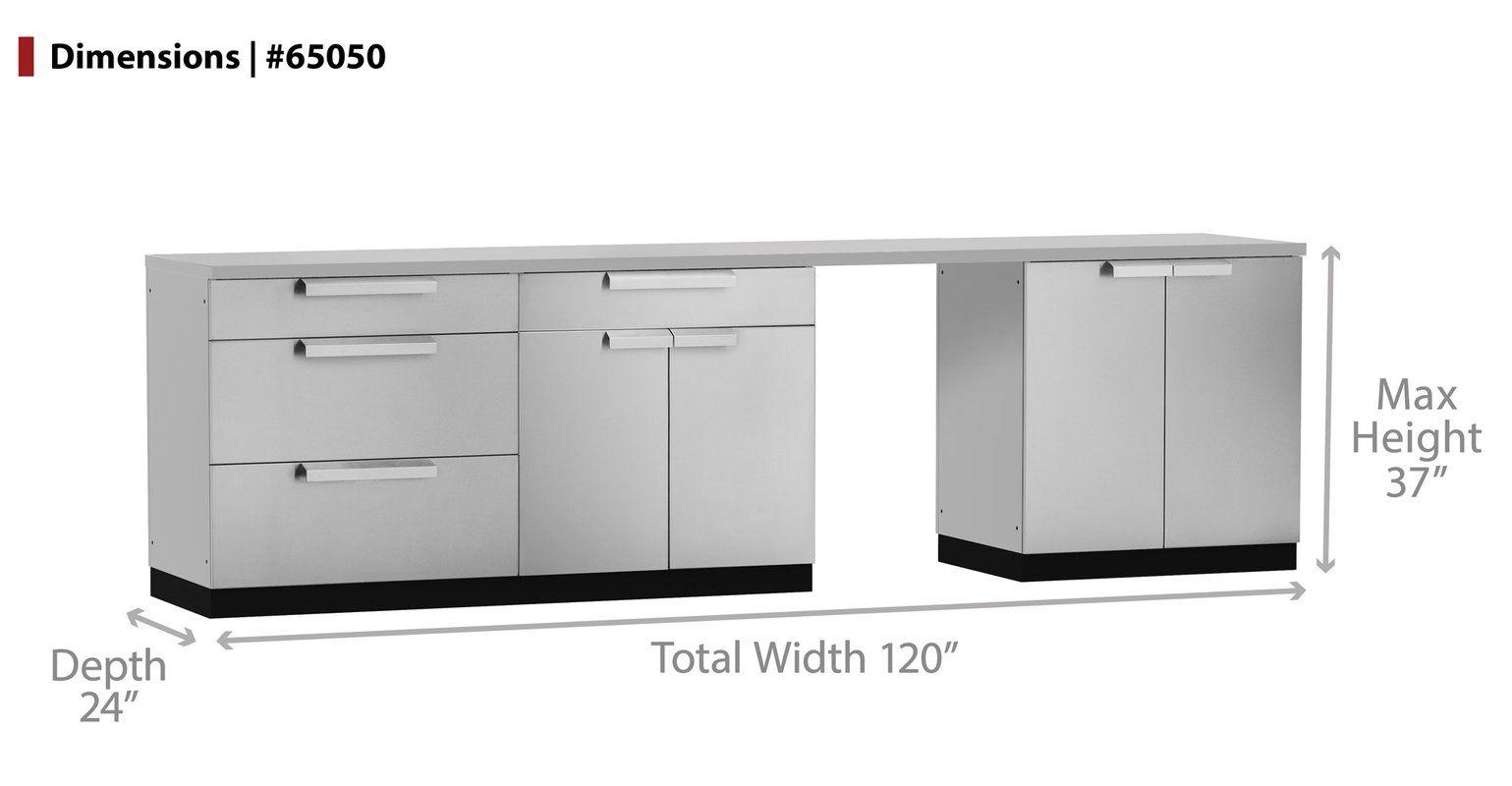 Stainless Steel 3 Piece Modular Outdoor Kitchen Cabinets Outdoor Kitchen Cabinets Modular Outdoor Kitchens Custom Countertops