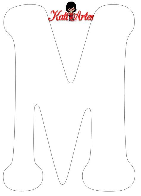 Alfabeto En Blanco Moldes Letras Para Imprimir Patrones De