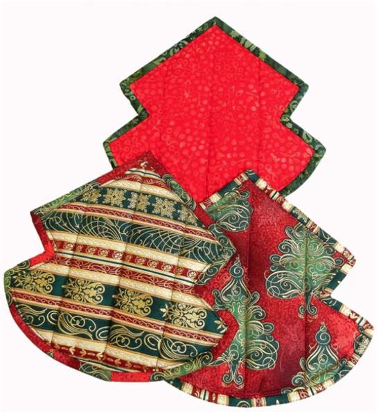 Pot Holders by Hoffman Fabrics | Christmas | Pinterest | Topflappen
